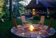 Home : Outside : Patio/Deck/Living / by Amber Burck