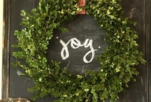CHRISTMAS JOY~Decorating and Crafts / Decorating for Christmas and crafts I'd like to try.  / by Denise Wade