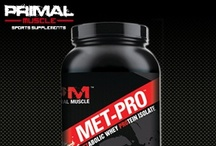 Primal Muscle Products / At Primal Muscle, it's all about you – helping you to not just meet but dominate your health and fitness goals. Offering the best bodybuilding supplements, weight lifting supplements, growth supplements, fat burning supplements, and more, we are your one-stop-shop for getting in the best shape of your life. / by Primal Muscle