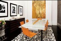 Design: Kitchens & Dining Rooms / Eating is a necessity, but cooking is an art.   http://fengshuistyle.us / by Jennifer Emmer