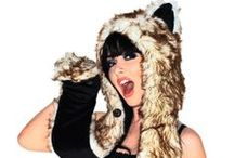 Furry Hoods / by iHeartRaves