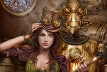 We'll Steampunk like it's an alternate 1869! / The Age of Steam need never end! / by Danielle Monsch