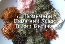 spices and seasonings etc / by Diana Jones