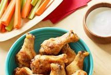 Twists on Game Day Recipes / Get friends and family cheering this Game Day with these easy-to-do recipes. Find more finger foods, party appetizers, and tailgating classics here: http://hiddnval.ly/PLXSlm.  / by Hidden Valley
