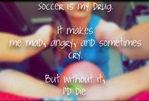 ⚽soccer=my life<3⚽ / by Megan:/