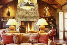 Rustic Design.... / There are so many beautiful cottage, chalet, cabin, ski lodge and mountain home designs on Pinterest.  Will enjoy pinning away.... / by Arlene Larson
