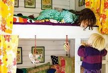 Kids' Bunks and Bedrooms / by Katherine Lumb