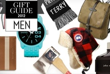 Christmas Gift Ideas for Men / by FASHION Magazine