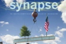 Synapse Magazine / Synapse is an award-winning publication produced three times each year by The Chester County Hospital and Health System. It can be found online: http://www.chestercountyhospital.org/cchpage.asp?p=1294  Feedback Welcome: Email synapse@cchosp.com to let us know what you think or to make suggestions about future topics. / by Chester County Hospital