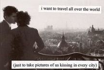 travel and bucket list / by Emily Till