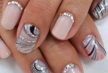 Pretty Fingers / Nail art ideas and finger adornment rings / by Megan's Beaded Designs