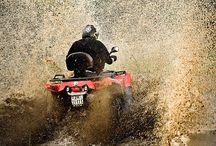 four[wheeling] / get muddy, guy / by Hannah McGowan