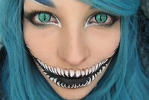 Scary Face / Makeup for when I want to frighten people... / by Jennifer Lovchik