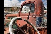 """Ye Olde Auto Graveyard""...* / by The Baglady"