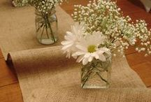 Burlap can be beautiful / by Ann Erler