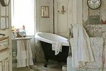 Wash Up / amazing bathrooms that will make you want to linger and soak awhile. / by I'm So Vintage