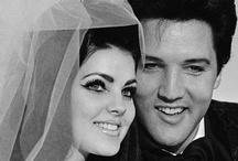 Elvis and Priscilla Presley / by Isamar Aleman