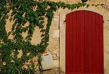""" secret doors "" / interesting doors / by Rita Bergoudian"