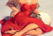 Colour Me Devil in a Red Dress! / by L Li