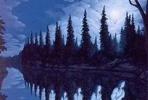 Colour When She Wore Blue Vevet, Bluer than Velvet was the Night...! / by L Li