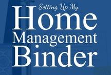 Home Organisation/Management Binder / by Emerald Eyes