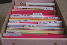 Organized Cards  / by Emerald Eyes