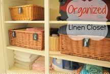Organized Linen / by Emerald Eyes