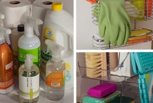 Organized Cleaning Products / by Emerald Eyes