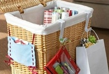 Organized Wrapping Papper + Ribbons / by Emerald Eyes