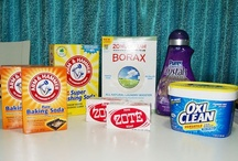 Handy Household Tips and Tricks / Homemade cleaning products, and handy tips for your household. / by Megan Noble