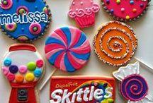 cupcake, cake & cookie sugar / theme sweets for rush events & sisterhood socials. / by sorority sugar