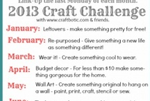 Craft Challenge 2013 / The Craftbotic craft challenge 2013 with Cocalores & Planned in Pencil / by Rosie Quinn