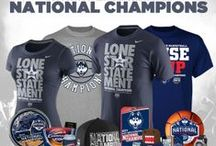 Connecticut Huskies Gear / The Huskies are 4-Time Basketball Champs and our UConn Huskies Shop is stocked with UConn Championship Apparel! Pick up UConn Gear now that they're the Champions and celebrate in new UConn Champs Merchandise like T-Shirts, Hats, Jerseys and Sweatshirts. We've got the most updated selection of Connecticut Huskies Clothing for men, women and kids. Our UConn Fan Shop is the #1 spot to score NCAA Tournament Championship Gear to congratulate your Huskies in! / by Fanatics ®