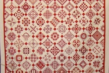 Quilts -- Red and White Only Need to Apply / by Judith Thompson