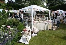Vintage Fairs & Events / My stall set up at various events that I attend throughout the year! / by Betty and Violet