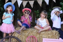 Vintage Cowgirl Farm Party / by Hollie McClintock