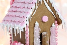 Girly Pink Christmas Decor / by Hollie McClintock
