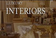 luxury interiors / by Inviting Home