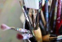 craft + art + diy / by Brittney Sky Nolan