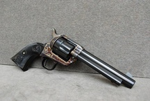 Colt Firearms / As with the Smith & Wesson relover board, I admire the beauty & classic engineering of these firearms, both revolvers as well as the John Browning designed Colts. / by Bill & Kelley Eledge