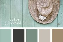 cottage colors / by Jackie Saunderson