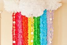PARTY | Rainbow Fun / by Jenifer | hello love designs