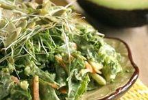 Yummy ~ Salads / A wonderful variety of salads & dressings / by Lisa Arnel {Bossy Baby Workshops}