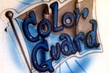colorgaurd / by Tanya Burns