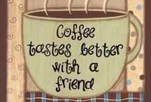 COOL BEANS! / mmmm COFFEE! Make mine steamy hot OR icy cold, OR maybe a frappicino! / by Debra Weaver