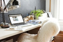 Home working areas / home office ideas / by Vanja Milicevic