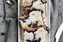 loaf cakes / loaf cakes, often lemon  / by Kathryn / London Bakes