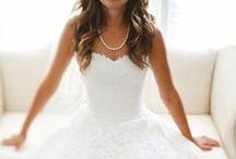 Wedding - dress / by Kristen