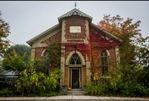 converted churches / I always wanted to live in a church. In a way, now I do. I am a pastor =) / by Carol White
