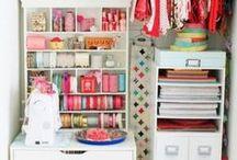 Crafty Craft Storage / by Lettice